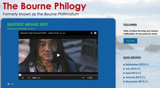 bourne philogy grab